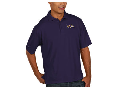Baltimore Ravens Antigua NFL Men's Pique Polo