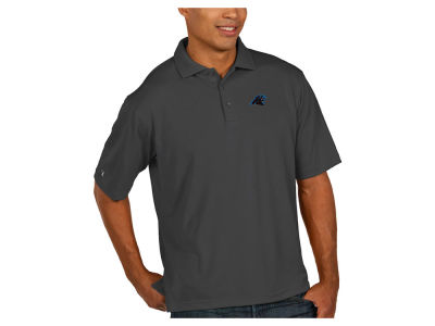 Carolina Panthers Antigua NFL Men's Pique Polo