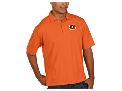 Cincinnati Bengals Antigua NFL Men's Pique Polo
