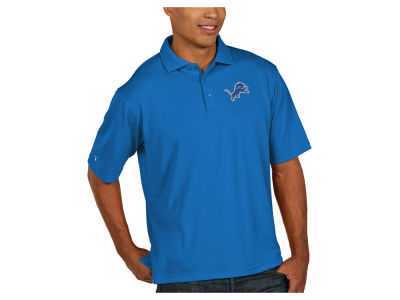 Detroit Lions Antigua NFL Men's Pique Polo