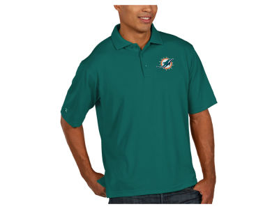 Miami Dolphins Antigua NFL Men's Pique Polo