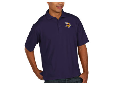 Minnesota Vikings Antigua NFL Men's Pique Polo