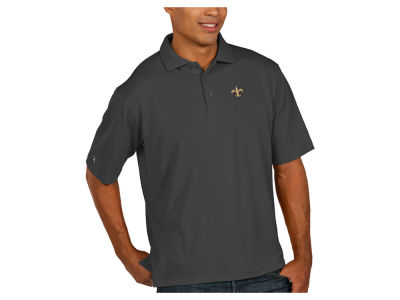 New Orleans Saints Antigua NFL Men's Pique Polo
