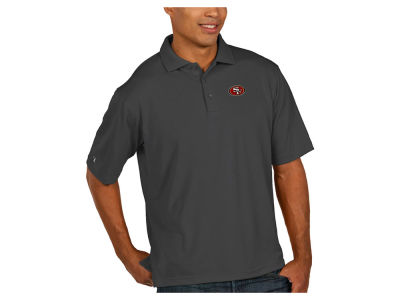 San Francisco 49ers Antigua NFL Men's Pique Polo