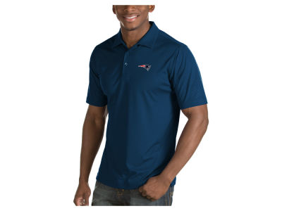 New England Patriots Antigua NFL Men's Inspire Polo