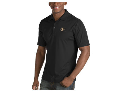 New Orleans Saints Antigua NFL Men's Inspire Polo