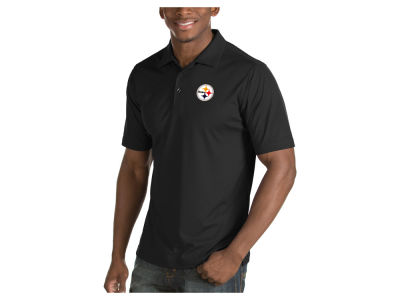 Pittsburgh Steelers Antigua NFL Men's Inspire Polo