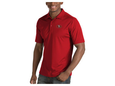 San Francisco 49ers Antigua NFL Men's Inspire Polo