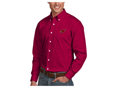 Arizona Cardinals Antigua NFL Men's Dynasty Button Up Shirt