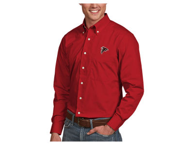 Atlanta Falcons Antigua NFL Men's Dynasty Button Up Shirt