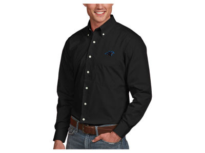 Carolina Panthers Antigua NFL Men's Dynasty Button Up Shirt