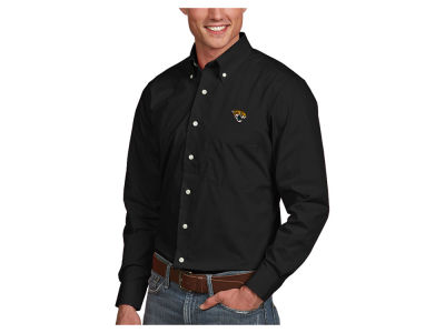 Jacksonville Jaguars Antigua NFL Men's Dynasty Button Up Shirt