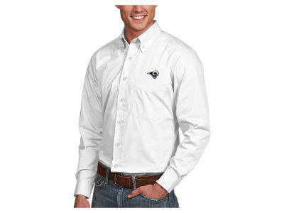 Los Angeles Rams Antigua NFL Men's Dynasty Button Up Shirt