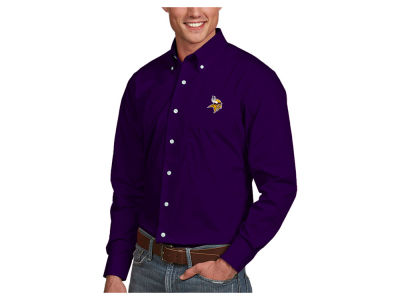 Minnesota Vikings Antigua NFL Men's Dynasty Button Up Shirt