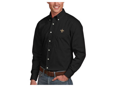 New Orleans Saints Antigua NFL Men's Dynasty Button Up Shirt