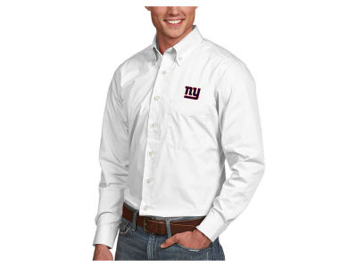 New York Giants Antigua NFL Men's Dynasty Button Up Shirt