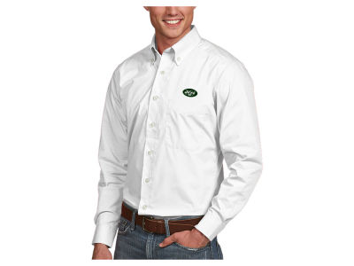 New York Jets Antigua NFL Men's Dynasty Button Up Shirt