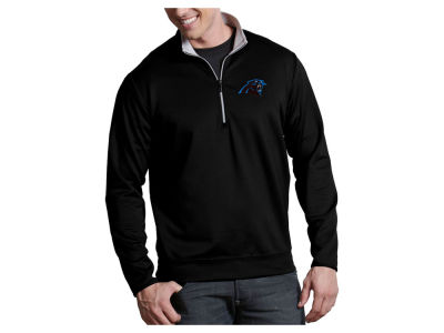 Carolina Panthers Antigua NFL Men's Leader 1/4 Zip Pullover