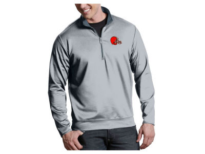 Cleveland Browns Antigua NFL Men's Leader 1/4 Zip Pullover