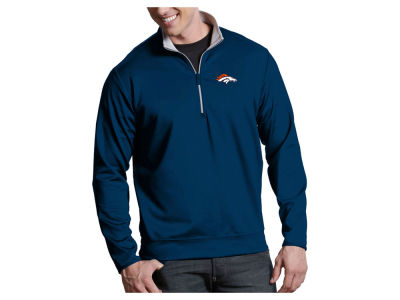 Denver Broncos Antigua NFL Men's Leader 1/4 Zip Pullover