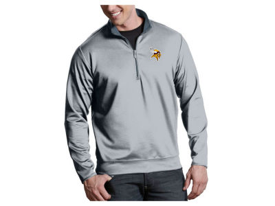 Minnesota Vikings Antigua NFL Men's Leader 1/4 Zip Pullover