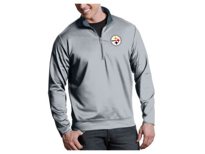 Pittsburgh Steelers Antigua NFL Men's Leader 1/4 Zip Pullover