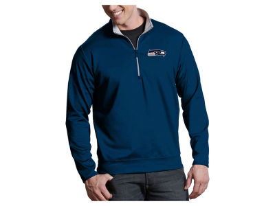 Seattle Seahawks Antigua NFL Men's Leader 1/4 Zip Pullover