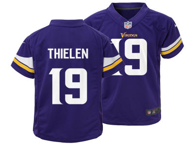 Minnesota Vikings Adam Thielen Nike NFL Kids Game Jersey