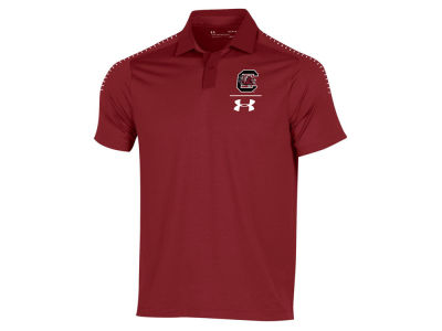 South Carolina Gamecocks Under Armour NCAA Men's Pinnacle Polo