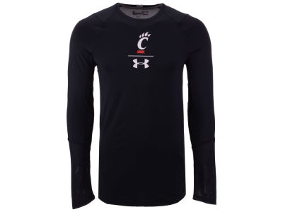 Cincinnati Bearcats Under Armour NCAA Men's Long Sleeve Raid Training T-Shirt