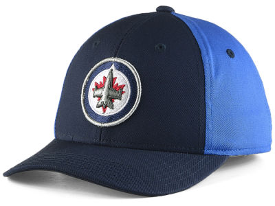 Winnipeg Jets NHL NHL Kids Colorblock Structured Adjustable Cap