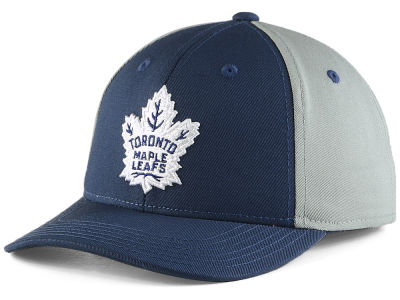 Toronto Maple Leafs NHL NHL Youth Colorblock Structured Adjustable Cap
