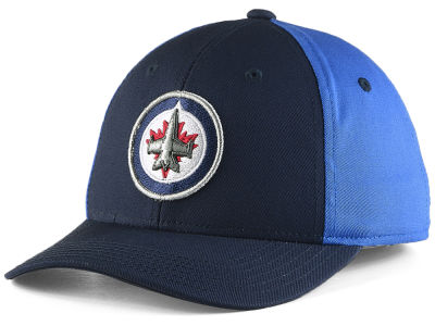 Winnipeg Jets NHL NHL Youth Colorblock Structured Adjustable Cap
