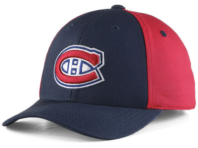 Montreal Canadiens NHL NHL Youth Colorblock Structured Adjustable Cap