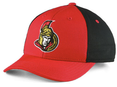 Ottawa Senators NHL Youth Colorblock Structured Adjustable Cap