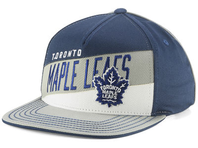 Toronto Maple Leafs Outerstuff NHL Youth Stripe Structured Snapback Cap