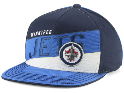 Winnipeg Jets Outerstuff NHL Youth Stripe Structured Snapback Cap