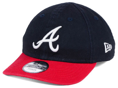 Atlanta Braves New Era MLB Jr On-Field Replica 9TWENTY Cap
