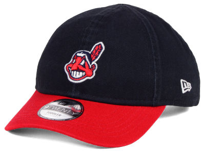 Cleveland Indians New Era MLB Jr On-Field Replica 9TWENTY Cap