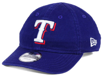 Texas Rangers New Era MLB Jr On-Field Replica 9TWENTY Cap