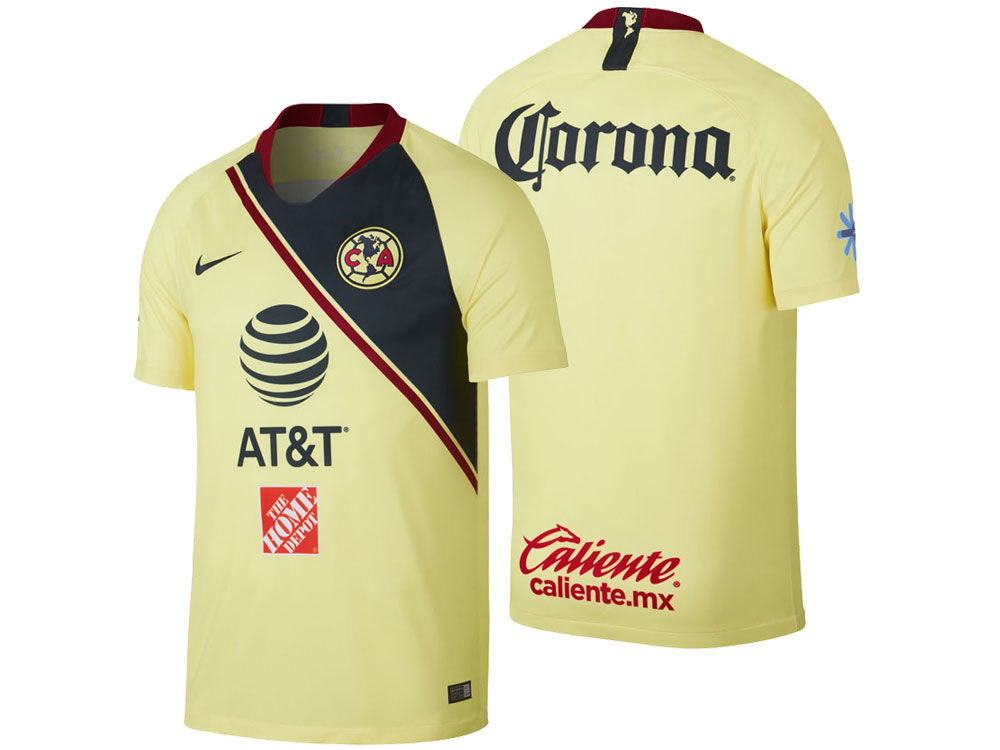 Club America Nike Men s Club Team Home Stadium Jersey  8d5043dd6