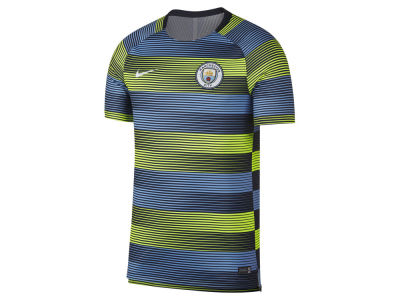 Manchester City Nike Men's Club Team Dry Squad T-shirt