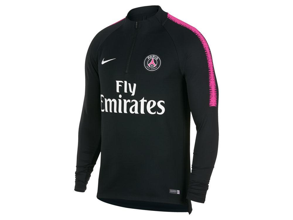 Paris Saint-Germain Nike Men s Club Team Dry Squad Drill T-shirt ... f9f54af6a