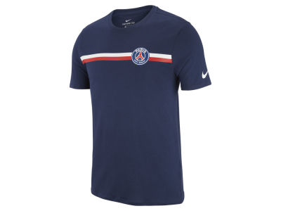 Paris Saint-Germain Nike Men's Club Team Stripe Crest T-Shirt