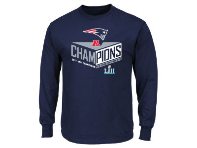 New England Patriots NFL Men's Conference Champ Destiny Drive Long Sleeve T-Shirt