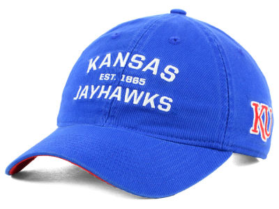 premium selection 1725a 60ef9 ... new zealand kansas jayhawks adidas ncaa stadium performance wordmark  adjustable cap 02d54 ff4d5