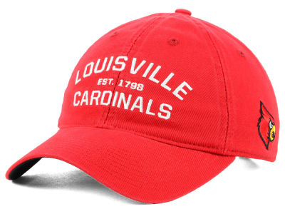 Louisville Cardinals adidas NCAA Stadium Performance Wordmark Adjustable Cap