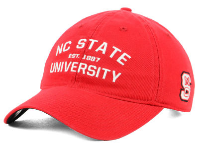 North Carolina State Wolfpack adidas NCAA Stadium Performance Wordmark Adjustable Cap