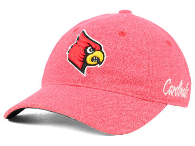 Louisville Cardinals adidas NCAA Women's Heathered Slouch Cap