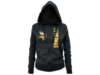 Minnesota Vikings 5th & Ocean NFL Women's Full Zip Hoodie